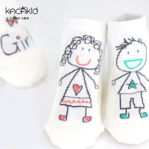 Kacakid Adorable Baby Boy & Girl Socks - BabyLand.my