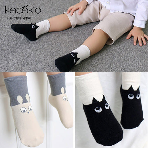 Kacakid Adorable Pets Long Socks - BabyLand.my