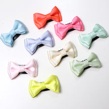 Load image into Gallery viewer, Angel Neitiri Bi-layer Bow-Knot Hair Clip (7 colours) - BabyLand.my