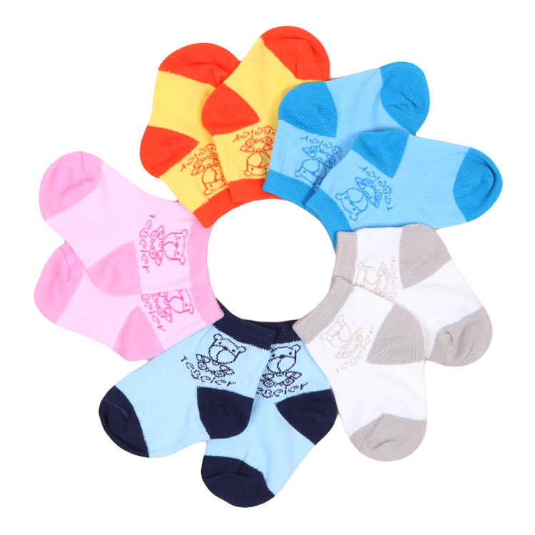 TeBeier Zesty Cool Bear Baby Socks - BabyLand.my