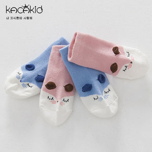 Kacakid Adorable Baby Fox Socks (2 colors) - BabyLand.my