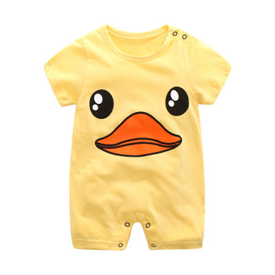 First Movements Yellow Duckling Romper - BabyLand.my