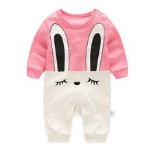 Load image into Gallery viewer, Shyly Long Ears Bunny Romper - BabyLand.my