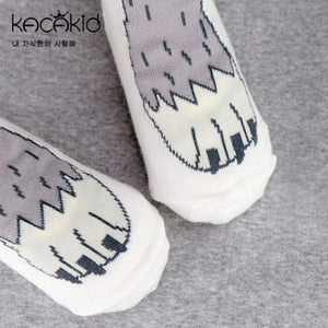 Kacakid Animal Paws Short Socks - BabyLand.my