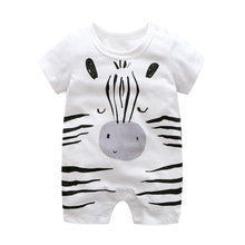 Load image into Gallery viewer, First Movements Baby Zebra Romper - BabyLand.my