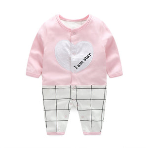 First Movements 'I am star' Pink Romper - BabyLand.my