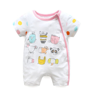 First Movements Animals Sudoku Romper - BabyLand.my