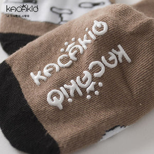 Kacakid Three Buddies Cartoon Series Short Socks - BabyLand.my