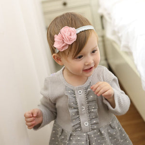Romantic Twins Flower Headband (2 Colors) - BabyLand.my