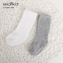 Load image into Gallery viewer, Kacakid Straight Mesh Tube Socks (2 Colors) - BabyLand.my