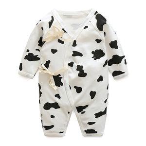 Baby Bathrobe Style Romper Series (Dairy Cow) - BabyLand.my