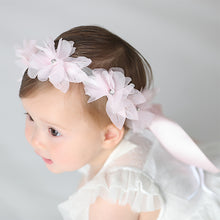 Load image into Gallery viewer, Angel Neitiri Flowers Petal Ribbon Headband (3 colors) - BabyLand.my