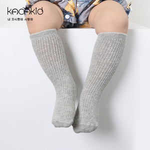 Kacakid Straight Mesh Tube Socks (2 Colors) - BabyLand.my