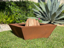 Load image into Gallery viewer, Corten steel fire pit