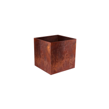 Load image into Gallery viewer, Corten Steel Cube Planters - FREE SHIPPING!