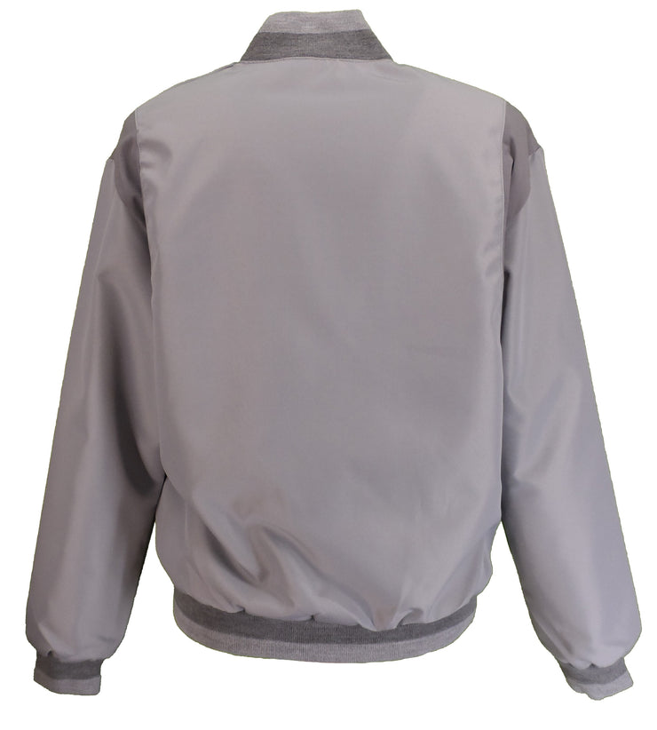 Mens Grey 2 Tone Classic Harrington Monkey Jacket
