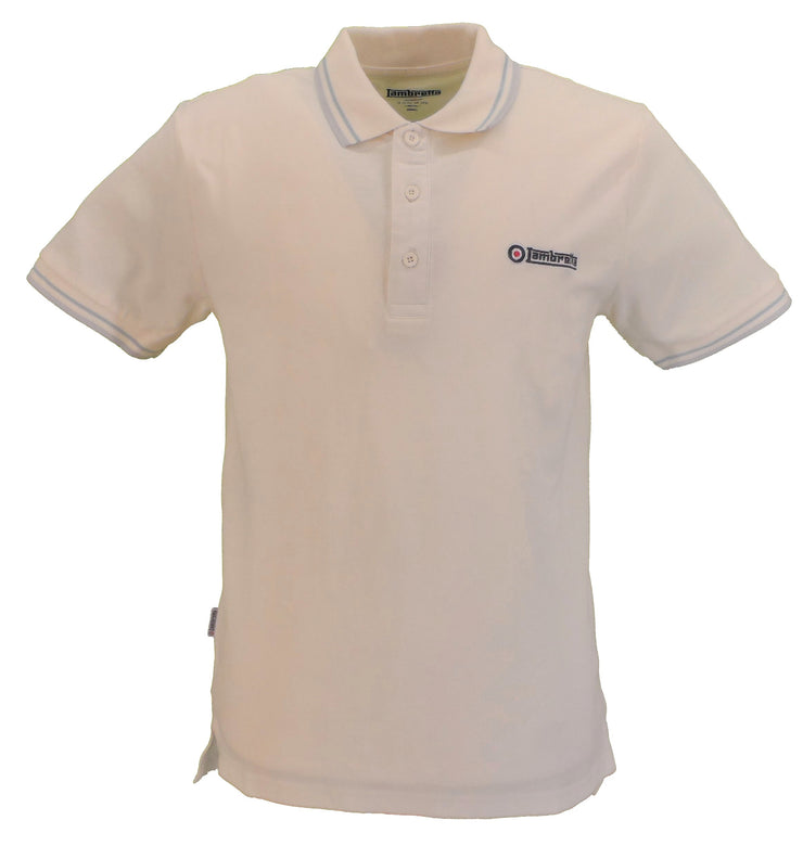 Lambretta Jetstream/Celetrial/Microchip Retro 100% Cotton Polo Shirt