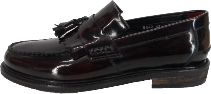 Delicious Junction Oxblood Rudeboy Mod SKA Loafers Shoes