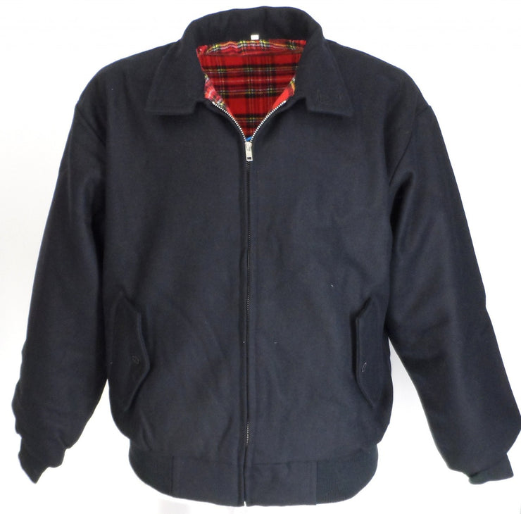 Relco Heavy Duty Navy Wool Harrington Jacket