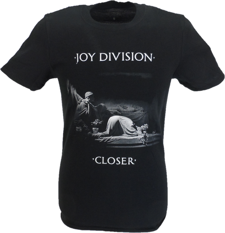 Mens Official Joy Division Classic Closer T Shirt