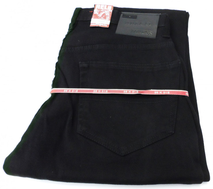 Relco Black Skinny Stretch Jeans