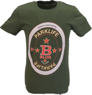 Mens Black Official Blur Parklife T Shirt