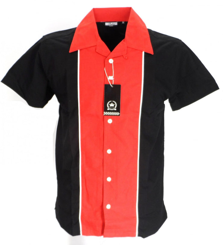 Rockabilly Bowling Black/Red shirts Vintage/retro Shirt