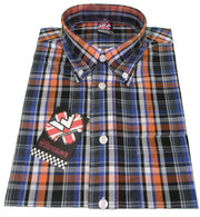 Warrior Dekker Short Sleeved Retro Button Down Shirts