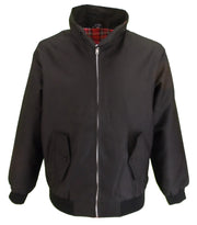 Mazeys Ladies Classic Black Harrington Jackets
