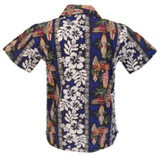 Relco Mens Surf Retro Bowing Shirt