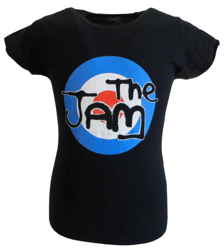 Ladies Official Licensed The Jam Black Target T Shirts