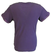 Lambretta Purple Paisley Print Pocket Tab T shirt …