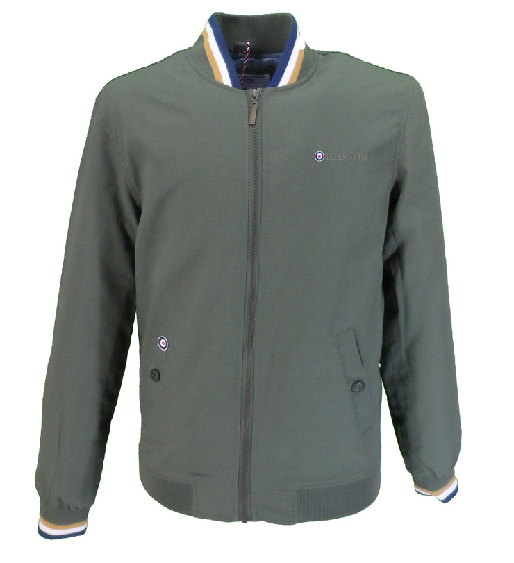 Lambretta Mens Beetle Green Monkey Jackets