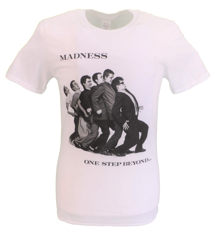 Mens White Official Madness One Step Beyond T Shirt