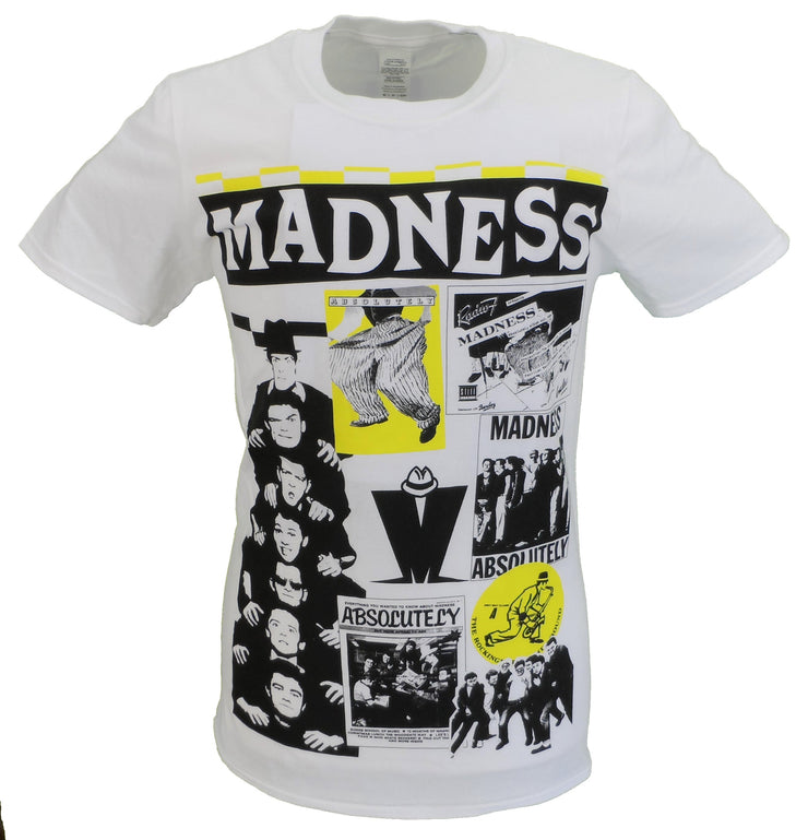 Mens White Official Madness Cuttings T Shirt