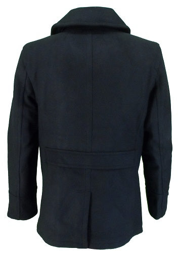 Merc London Men's Doyle Pea Coat