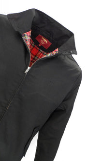 Merc Black Harrington Jacket