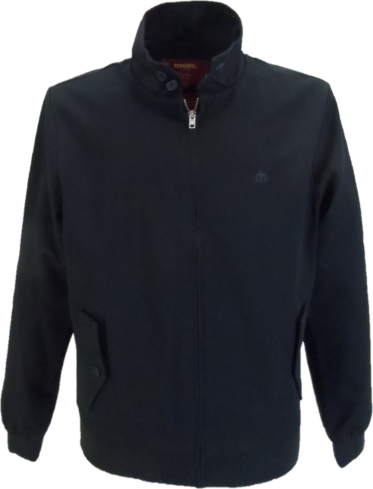 Merc Navy Harrington Jacket