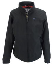 Lambretta Black Showerproof Harrington Jacket