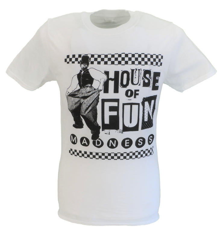 Mens White Official Madness House of Fun T Shirt
