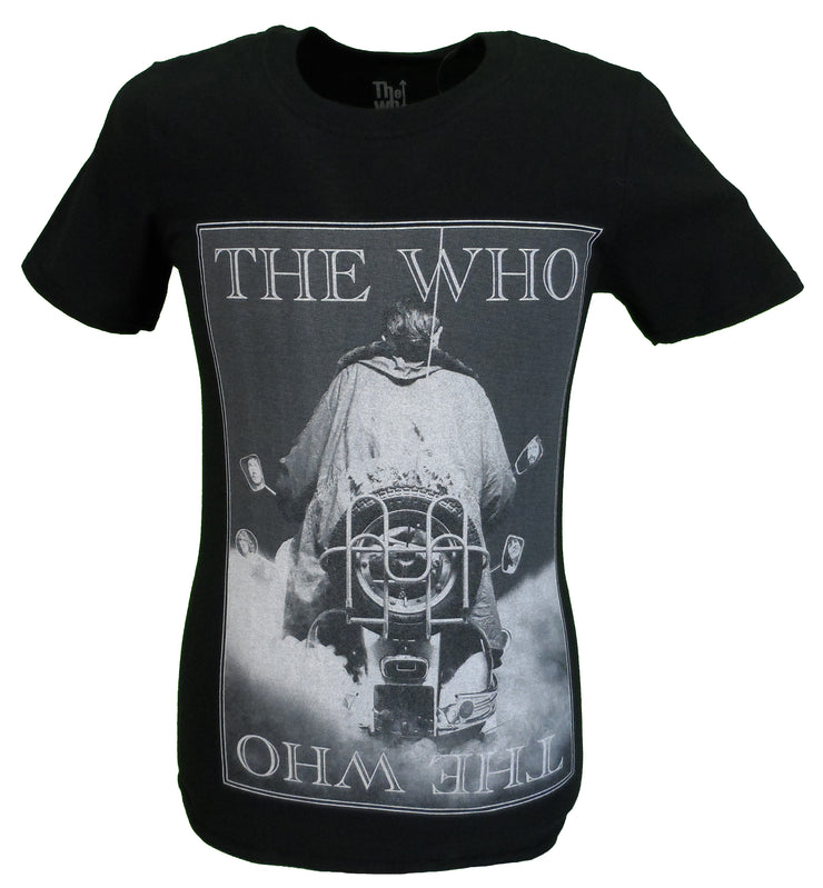 Mens Black Official The Who Quadrophenia Classic T Shirt