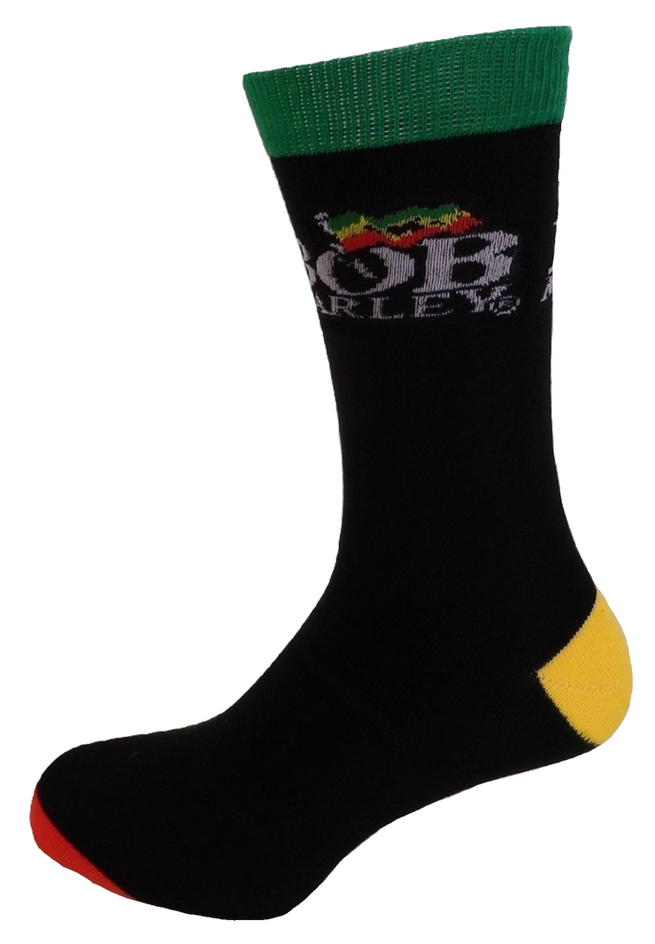 Mens Officially Licensed Bob Marley Socks