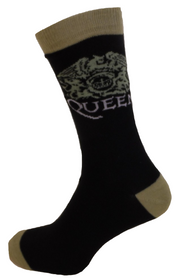 Mens Officially Licensed Queen Logo Socks