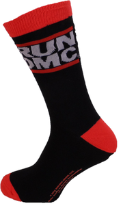 Mens Officially Licensed Run Dmc Logo Socks