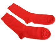 Mens 2 Pair Pack Red Retro Socks