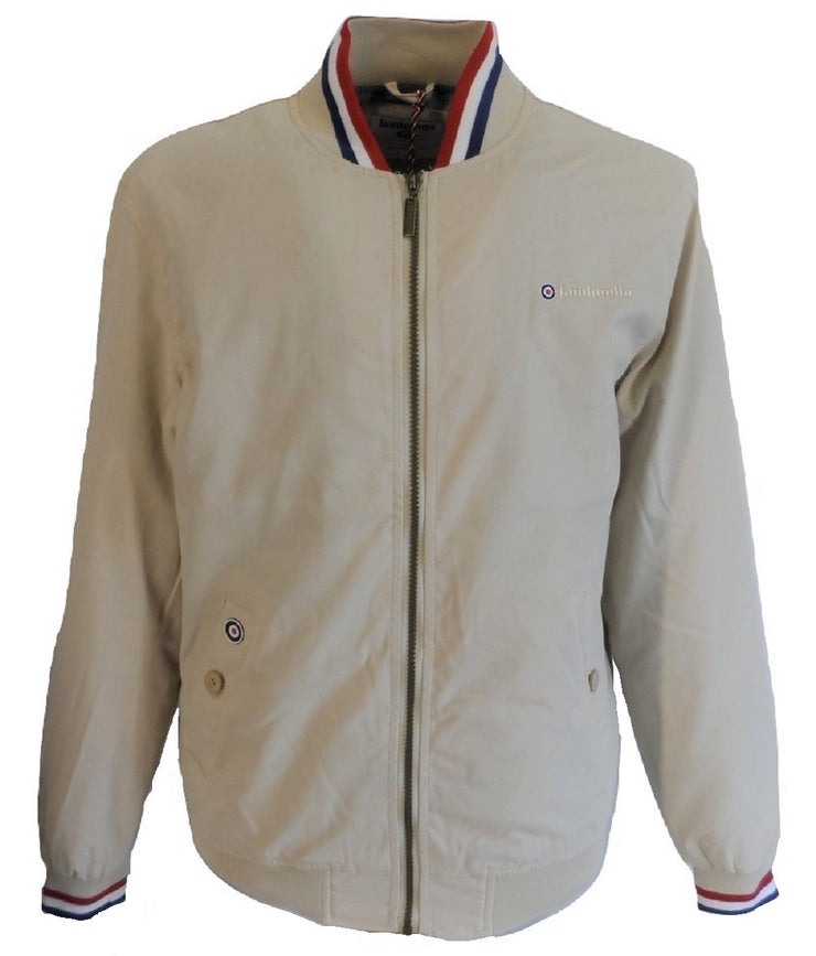 Lambretta Beige Monkey/Harrington Jackets
