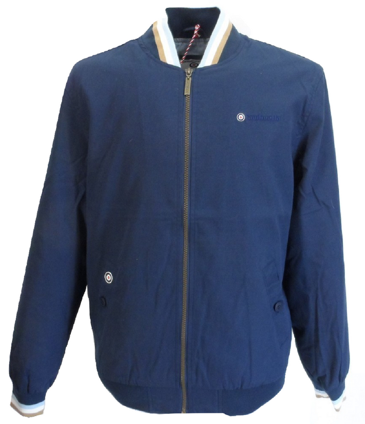 Lambretta Navy/Gold/Sky Monkey/Harrington Jackets