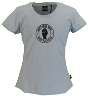 Stomp Ladies Blue Keep The Faith Northern Soul T Shirts