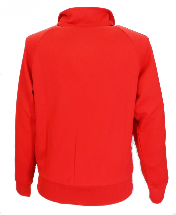 Relco Mens Red Retro Track Tops