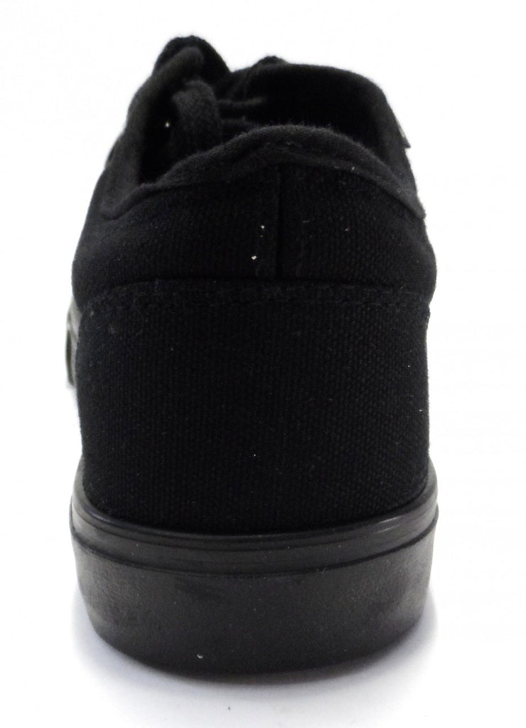 DEK Retro All Black Low Canvas Shoes